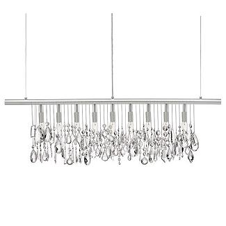 Cellula Chandelier - Crystals                    - Design Within Reach :  furniture modern lighting lighting sale
