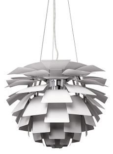Artichoke Lamp - White