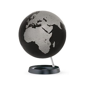 Table Globe - Black                       - Design Within Reach :  black apartment house accessorize