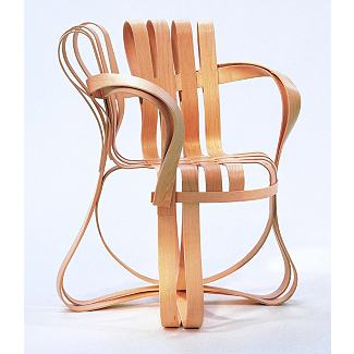 Gehry Cross Check Armchair                       - Design Within Reach