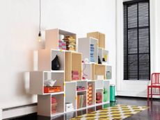 Stacked Shelving System