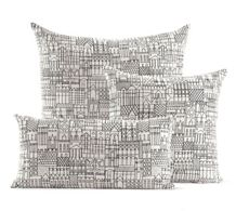 Girarrd Pillows in Retrospective Black