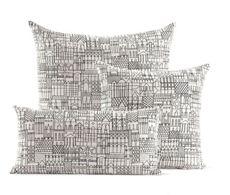 Girarrd Pillows in Retrospective Black