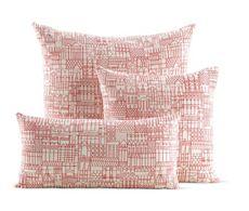 Girard Pillows in Retrospective Red
