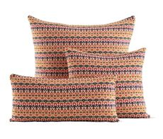 Girard Pillows in Arabeque, Persimmon