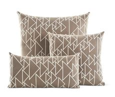 Girard Pillows in One Way Taupe