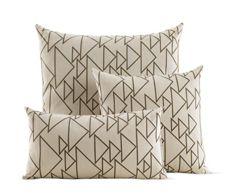 Girard Pillows in One Way, Cream