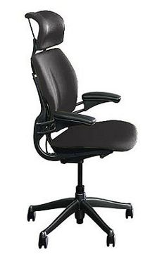Freedom Task Chair with Headrest in Vellum