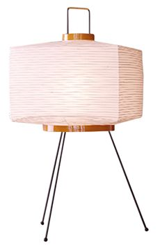 Akari Square Lantern Table Lamp