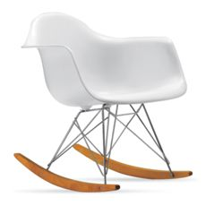 eames molded plastic rocker rar design within reach. Black Bedroom Furniture Sets. Home Design Ideas