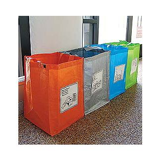 Recycling Bags - Set of 4> - Design Within Reach