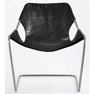 Paulistano Armchair - Frame, Phosph.Steel - Design Within Reach
