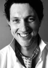 Black and white picture of Marcel Wanders