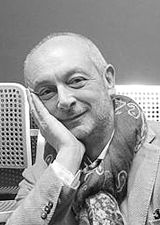 Black and white picture of Piero Lissoni