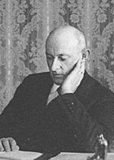 Black and white picture of Xavier Pauchard
