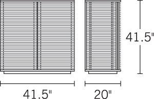 Line Bar, Walnut - Design Within Reach