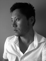 Black and white picture of Sean Yoo