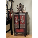 Forbidden City Imperial Dragon Wood Cabinet
