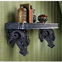 The Wolfram Dragons Sculptural Wall Shelf