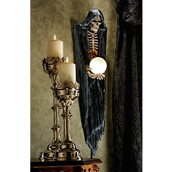 The Grim Reaper Illuminated Wall Sculpture