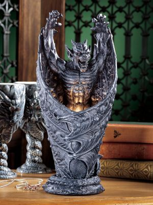 Dark Shadows Gargoyle Sculptural Lamp