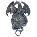 The Celtic Timekeeper Sculptural Dragon Wall Clock