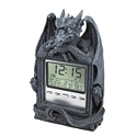 Dragon's Time LCD Alarm Clock