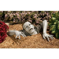 The Zombie of Montclaire Moors Sculpture - DB383020 - Design Toscano from designtoscano.com