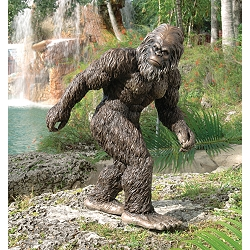 Bigfoot, the Garden Yeti Sculpture