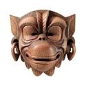Balinese Monkey Wall Mask