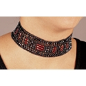 Wedding Jewelry - Lady Avalon Beaded Choker And Earrings Ensemble