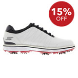 Men's Go Golf Pro Golf Shoes - White/Navy/Red