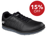 Men's Go Golf Elite Spikeless Golf Shoes - Black (#53530-BBK)