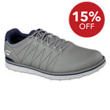Men's Elite Spikeless Golf Shoes - Charcoal/Navy (#53530)