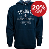 Men's Solidarity Toronto Maple Leafs Hooded Pullover