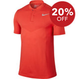 Men's Fly Dri-Fit Knit Short Sleeve Polo