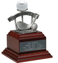 Personalized Pewter Hole-In-One Award