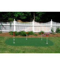 Five Hole Practice Putting Green (9' x 15')