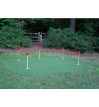 Five Hole Practice Putting Green (15' x 20')