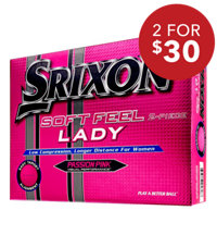 Soft Feel Lady Passion Pink Golf Balls