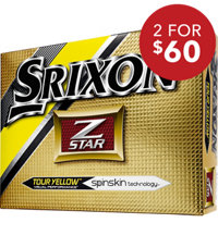 Z-Star Yellow Golf Balls