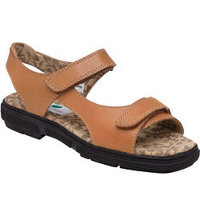 Women's Two Strap Sandals - Tan