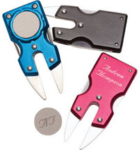 Personalized Aluminum Divot Repair Tool