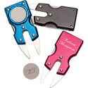Assorted Personalized Aluminum Divot Repair Tool