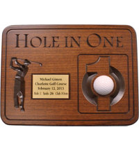 Personalized Hole-In-One Plaque