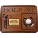 Great Golf Memories Personalized Hole-In-One Plaque