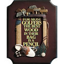 Golf Gifts & Gallery Best Wood Plaque