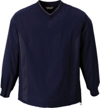 Logo Men's V-Neck Windshirt