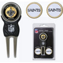 Team Golf NFL 3 Marker Divot Pack