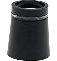 Unit Iron Ferrule Black/Clear/Black Dozen